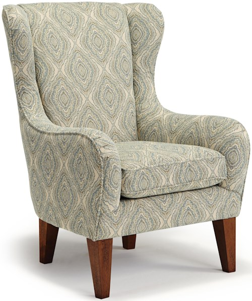 Best Home Furnishings Chairs Club Lorette Club Chair Rife 39 S Home Furniture Wing Chairs