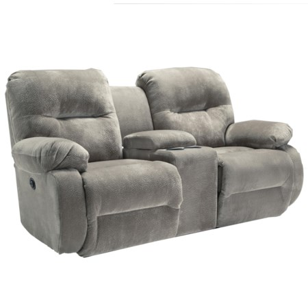 Rocker Console Loveseat with Tufting