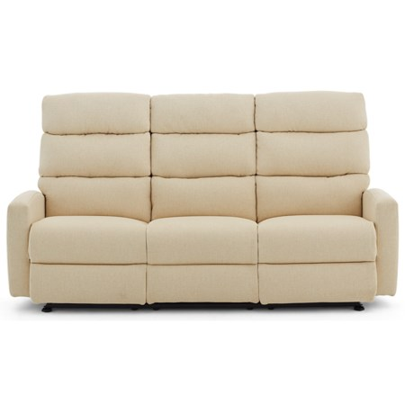 80 Inch Power Reclining Wall Saver Sofa