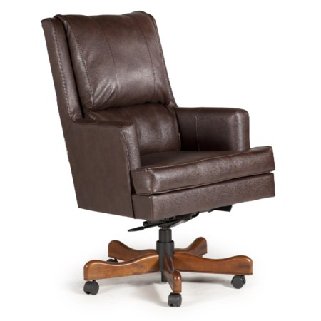 Randolph Executive Chair with Pillowed Back