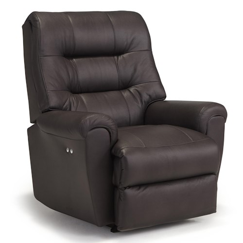 best home furnishings recliners medium langston swivel rocker recliner suburban furniture. Black Bedroom Furniture Sets. Home Design Ideas