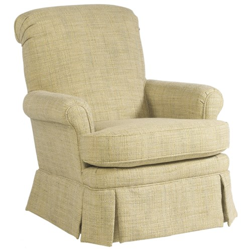 Best home furnishings nava casual living room swivel - Best swivel chairs for living room ...