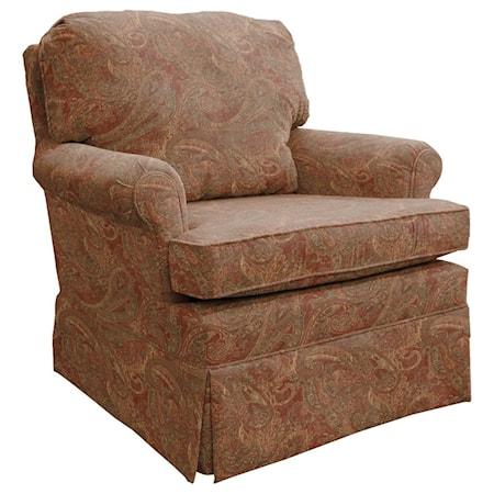 Comfortable Glider Club Chair