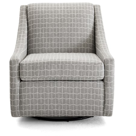 Contemporary Swivel Glider Chair