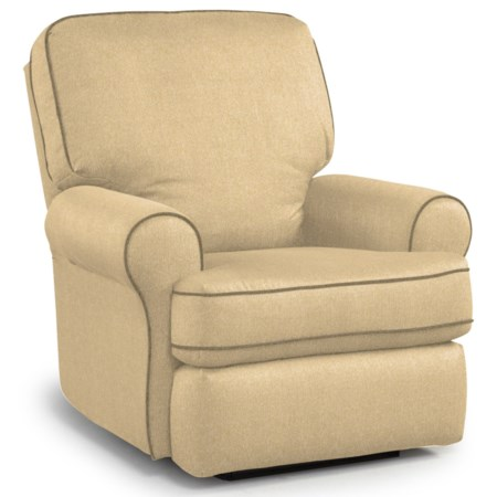 Wallhugger Recliner with Inside Handle