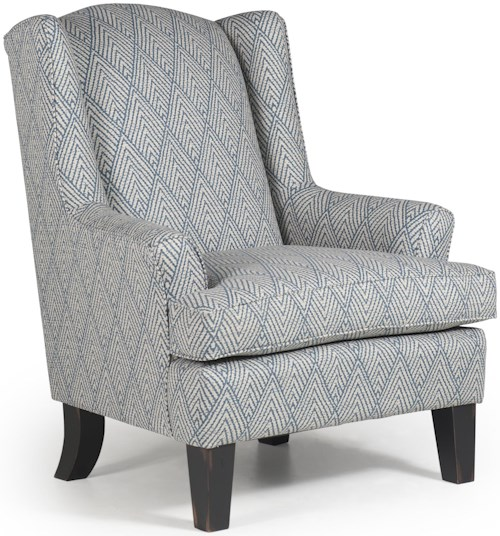 Best home furnishings chairs wing back andrea wing chair reid 39 s furniture wing chairs Home furniture port arthur hours