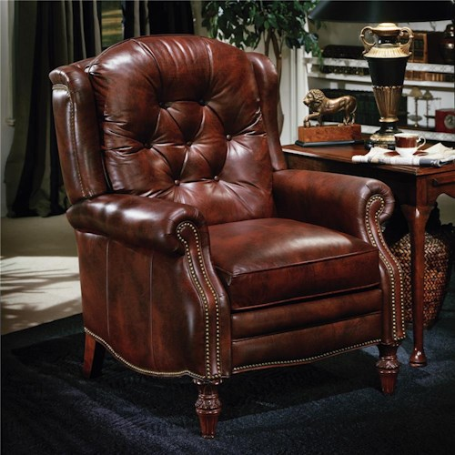 Bradington young chairs that recline victoria high leg for Queen victoria style furniture