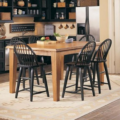 Broyhill Furniture Attic Heirlooms Counter Height 7 Piece Dining Set Broyhill Of Denver Pub