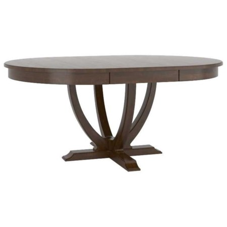 Customizable Oval Dining Table