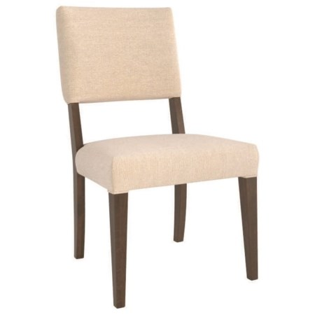 Customizable Upholstered Side Chair with Sunbrella Fabric