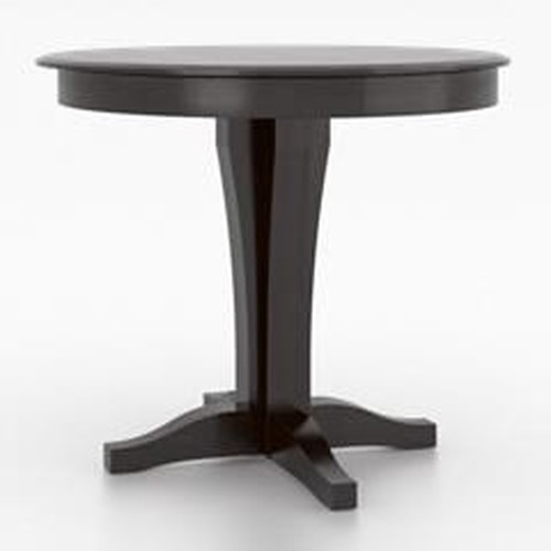 Dining Room Tables Denver: Canadel Custom Dining Customizable Round Counter Table