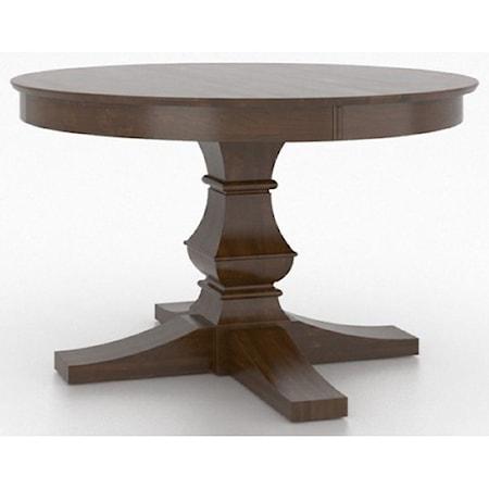 Customizable Round Pedestal Table
