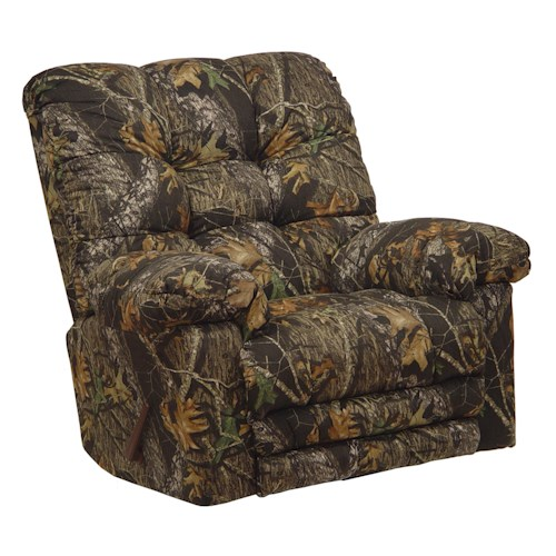 Catnapper Motion Chairs And Recliners Cloud Nine Duck Dynasty Rocker Recliner L Fish Three