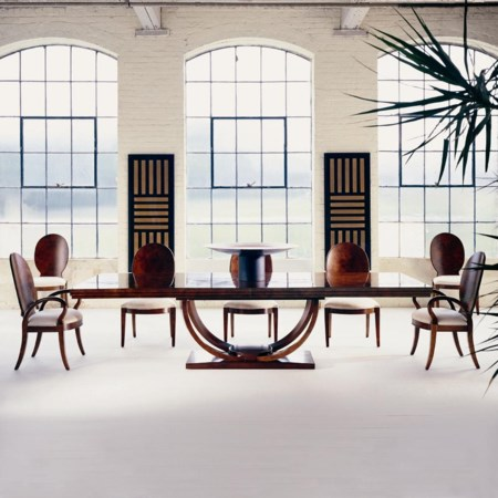 Dining Table, Arm Chair and Side Chair Set