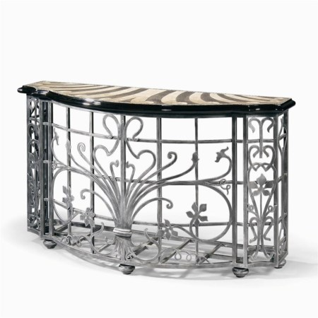 Wrought Iron Virgile Console Table