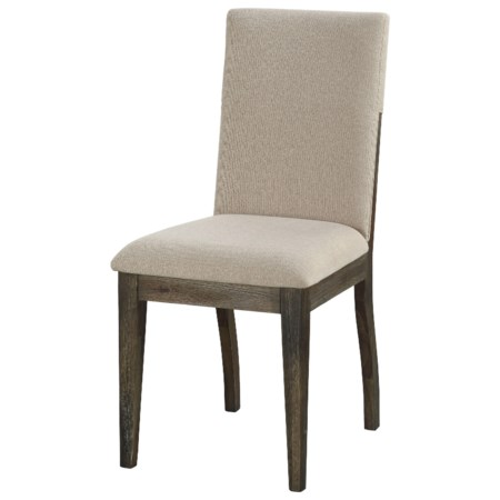 Contemporary Upholstered Dining Side Chair 2-Pack