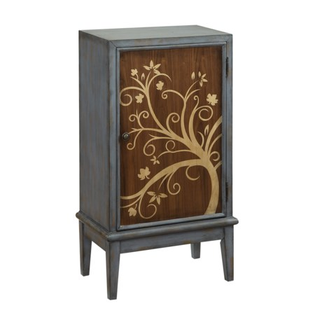 One Door Bar Cabinet