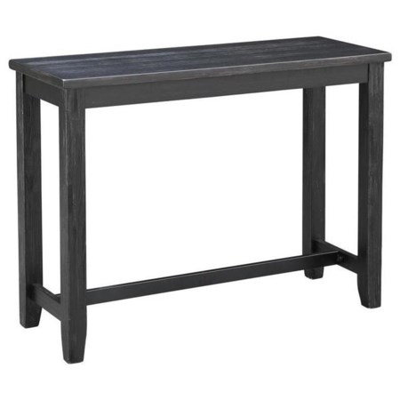 Contemporary Counter-Height Console Table