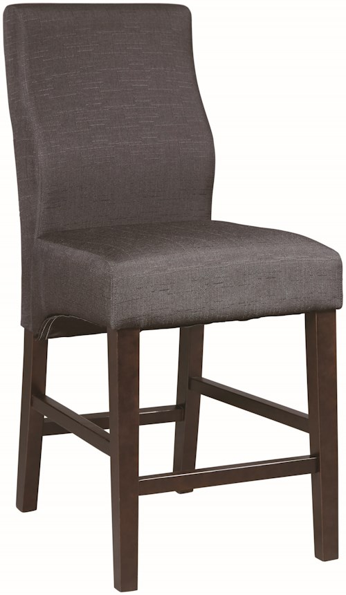 Coaster Dining Chairs And Bar Stools Upholstered Counter Height Stool Value City Furniture