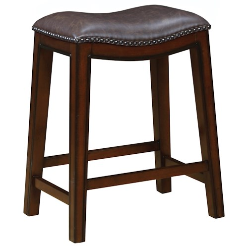 Coaster Dining Chairs And Bar Stools Backless Counter Height Stool With Nailh