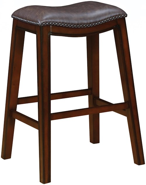 Coaster dining chairs and bar stools 122264 bar stool for Furniture 0 percent financing