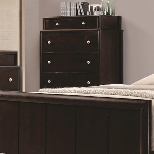 Coaster Madison Chest With Dovetail Drawers Value City Furniture Drawer Chests