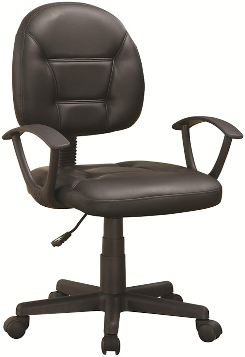Office chairs black office chair rotmans executive for Furniture 0 percent financing