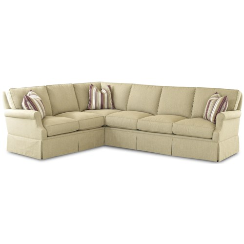 Comfort design madame chairman traditional l shaped for Sofas con shenlong