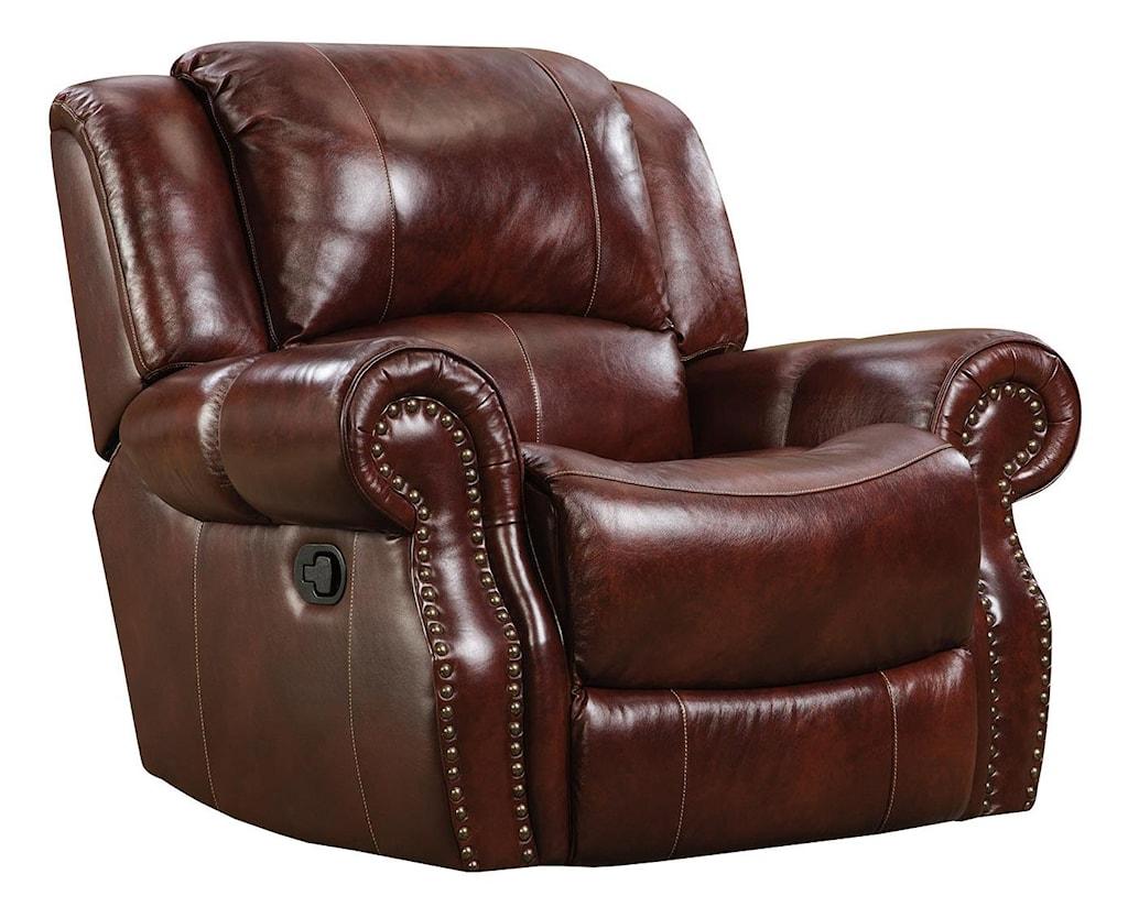 Greatest Corinthian Alexander 99901-10 Alexander Leather Recliner | Great  GP28