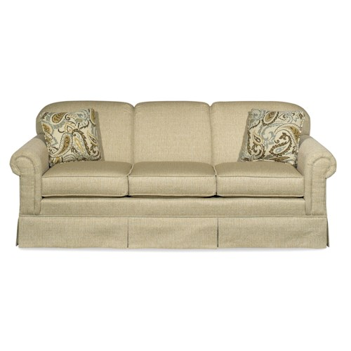 Craftmaster 4200 Traditional Stationary Sofa Bullard Furniture Sofas Fayetteville Nc