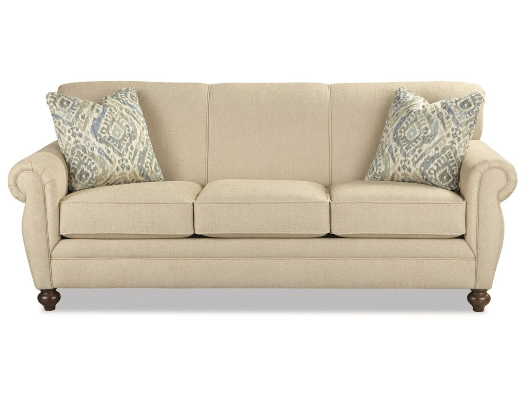 Rolled back sofa english roll arm sofa slipcover home for Traditional sofas and loveseats