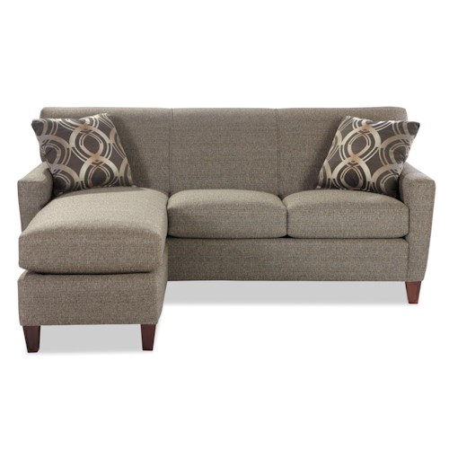Sectional Sofas In Hickory Nc: Hickory Craft 7864 Contemporary Sofa With Chaise