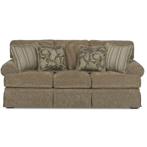 Sectional Sofas In Hickory Nc: Hickory Craft 4670 Traditional Sofa Sleeper