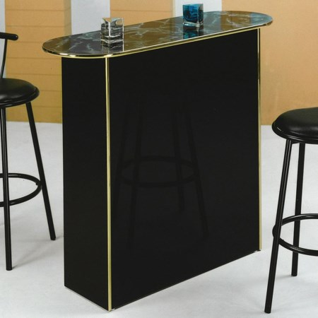 Poly Marble Home Bar Table