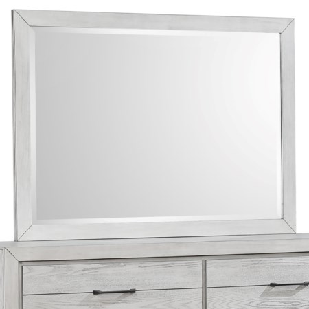 Contemporary Square Dresser Mirror