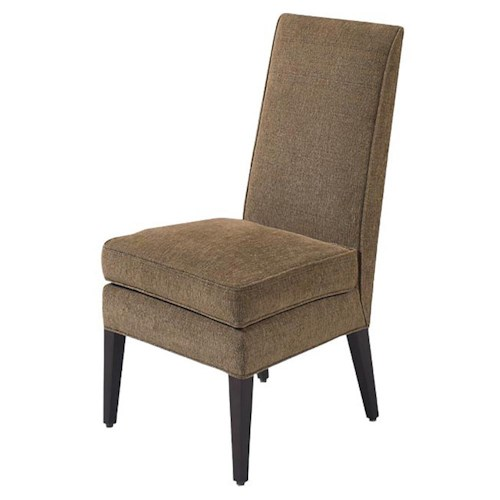 Designmaster chairs roland spring down seat side chair for Furniture 0 down