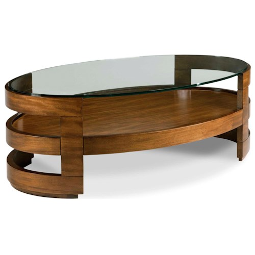 Drexel Heritage Renderings Eaves Oval Cocktail Table Design Interiors Cocktail Or Coffee Table