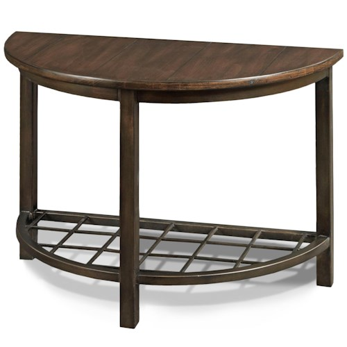 Drexel viage the village cocktail end table with grid for Table grid design