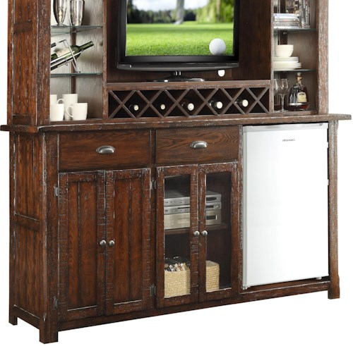 E C I Furniture Gettysburg Entertainment Back Bar Base Furniture Options New York Bar
