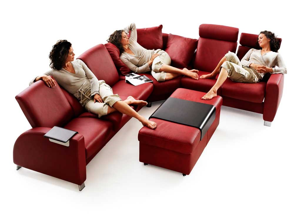 ekornes sectional sofa como high back leather sofa sectional thesofa. Black Bedroom Furniture Sets. Home Design Ideas