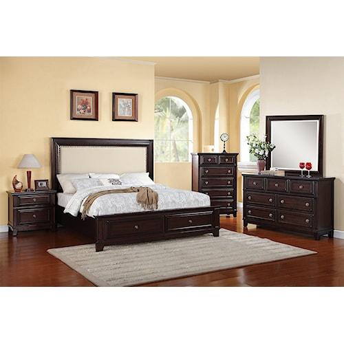 Elements International Harwich King Bedroom Group Bullard Furniture Bedroom Groups