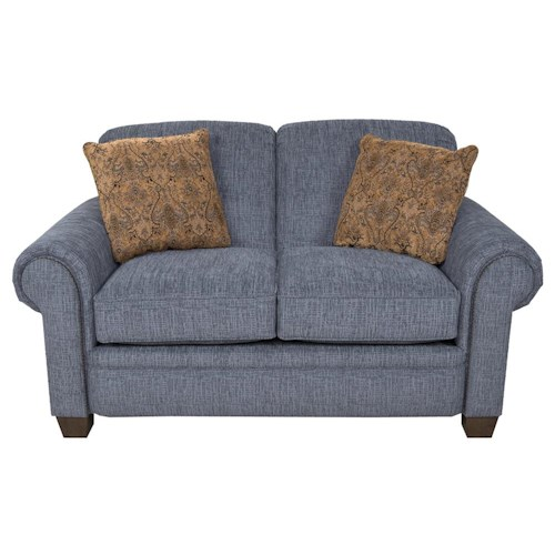 England philip casual loveseat lindy 39 s furniture company for Furniture 500 companies