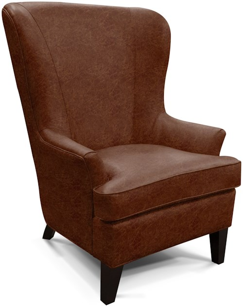 England saylor wing chair with contemporary style a1 for Furniture 0 percent financing