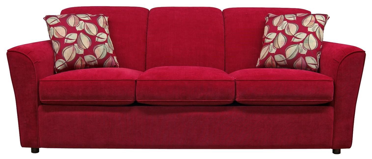 England Smyrna Sofa with Casual Contemporary Style EFO