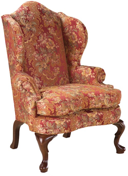 Grove Park Chairs High Back Wing Chair In The Traditional Style Sprintz Furniture Wing