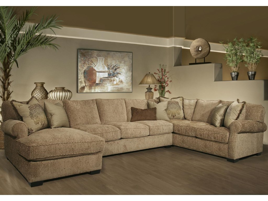 Fairmont sofa fairmont designs sofa scarlet fa d3534 03 for Sofas grandes y comodos