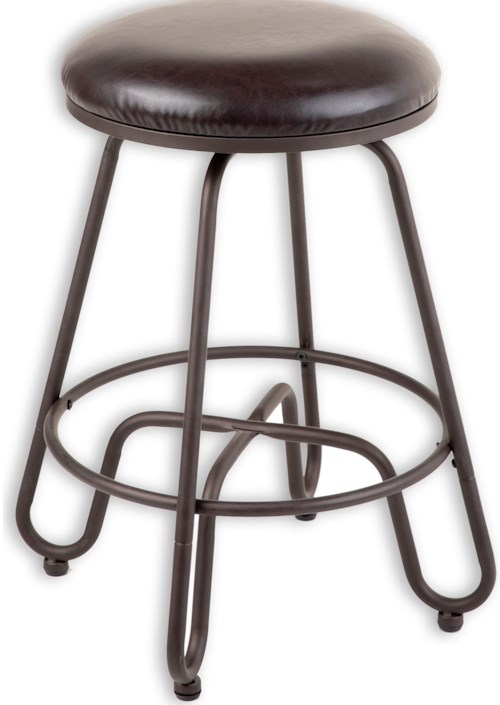 Fashion Bed Group Metal Barstools Transitional Denver Metal Barstool Pilgrim Furniture City