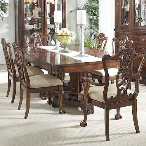 Fine Furniture Design Antebellum 7 Piece Dining Room Set