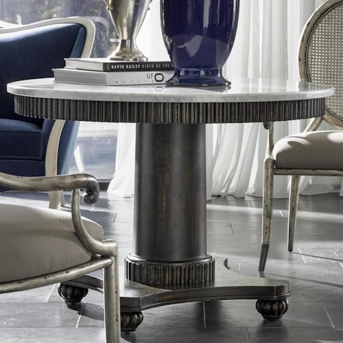 Fine Furniture Design Brentwood 1582 978 Fallon Center Table With Carrera Marble Top Design