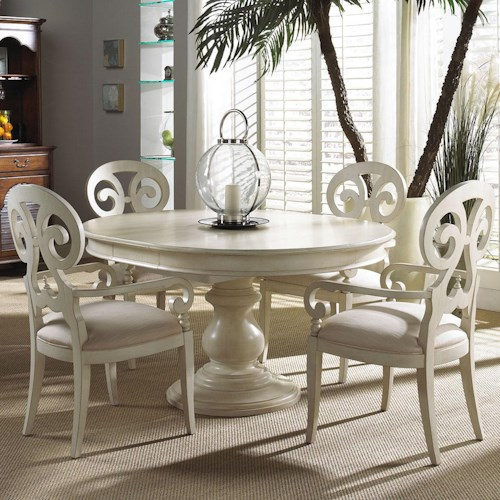 Michael harrison collection summer home 5 piece dining for Dining sets nashville tn